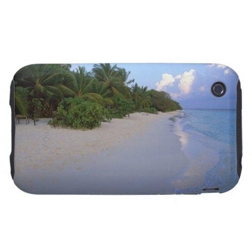 Playa de Sandy 7 Tough iPhone 3 Funda