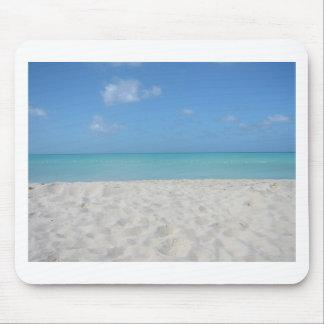 Playa de Sandy hermosa Tapetes De Ratón
