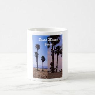 Playa de Santa Mónica Taza Clásica