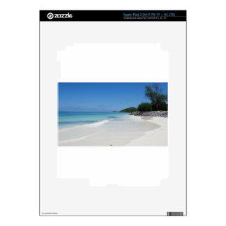 playa de Seychelles iPad 3 Pegatina Skin