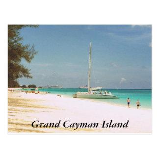 Playa de siete millas, isla de Gran Caimán Postales