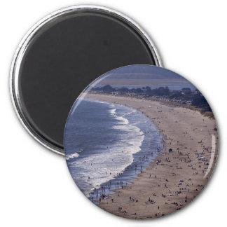 Playa de Stinson cerca de la costa del nacional de Imán Redondo 5 Cm