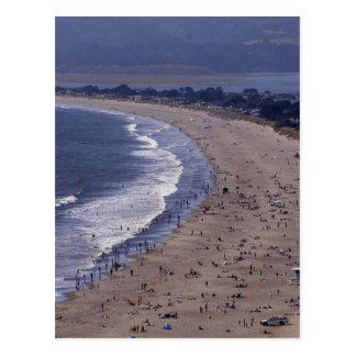 Playa de Stinson cerca de la costa del nacional de Postales