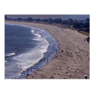 Playa de Stinson cerca de la costa del nacional de Tarjeta Postal