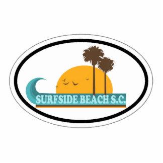 Playa de Surfside Esculturas Fotográficas