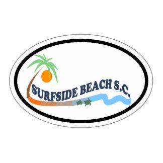 Playa de Surfside Esculturas Fotograficas