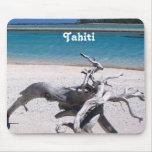 Playa de Tahitian Alfombrilla De Ratones