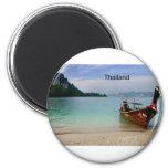 Playa de Tailandia en Krabi (St.K) Imán De Frigorifico