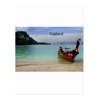 Playa de Tailandia Krabi (nueva) (St.K) Tarjeta Postal