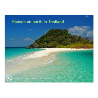 Playa de Tailandia Postal