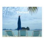Playa de Tailandia Postales