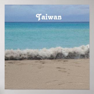 Playa de Taiwán Poster