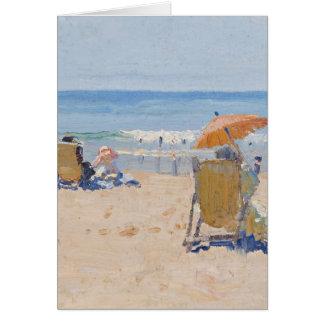 Playa de Tamarama - Elioth Gruner Tarjeta De Felicitación