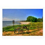 Playa de Thiessow en la isla de Ruegen Tarjeta Postal