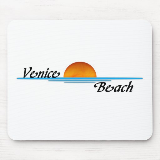 Playa de Venecia Alfombrillas De Ratones