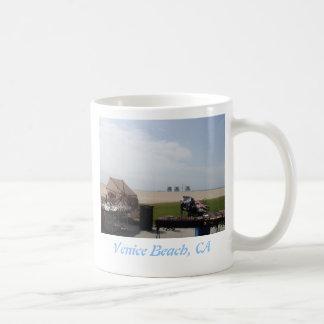 Playa de Venecia, California Tazas De Café