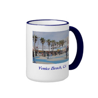 Playa de Venecia, California Taza De Dos Colores