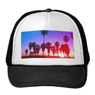 Playa de Venecia de las palmeras Gorra