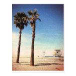 Playa de Venecia del vintage Postal