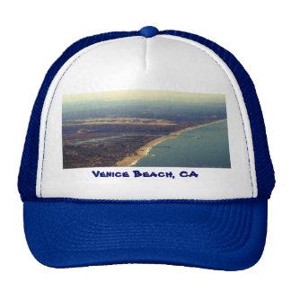 Playa de Venecia, Marina Del Rey, LAX, playa de Ve Gorro De Camionero
