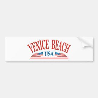 Playa de Venecia Pegatina Para Auto