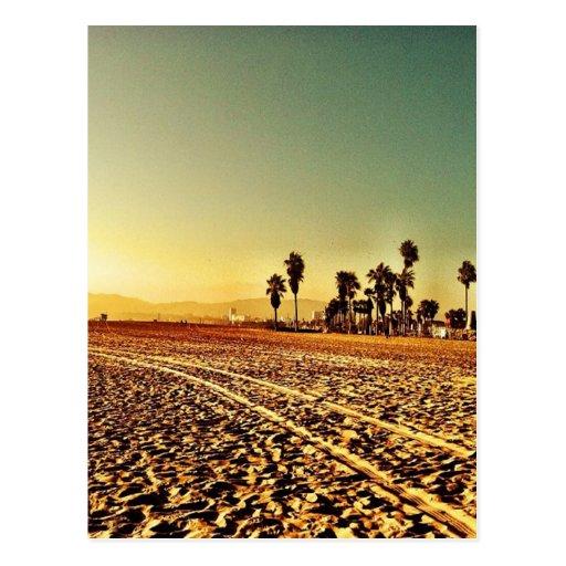 Playa de Venecia Tarjeta Postal