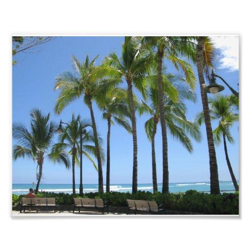 Playa de Waikiki Arte Con Fotos
