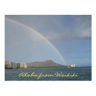 Playa de Waikiki, Hawaii Tarjetas Postales