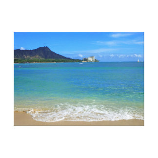Playa de Waikiki Impresiones De Lienzo