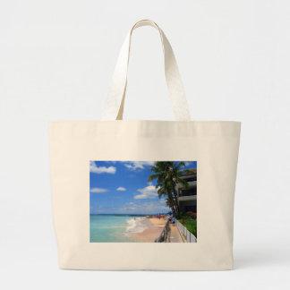 Playa de Waikiki, Oahu, Hawaii Bolsa Lienzo