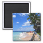 Playa de Waikiki, Oahu, Hawaii Imán Para Frigorifico