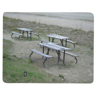 Playa de Wasaga de las tablas Cuaderno Grapado