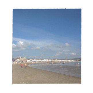 Playa de Weymouth Blocs De Notas