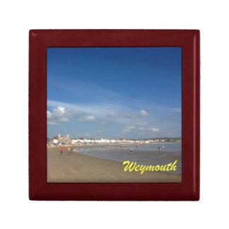 Playa de Weymouth Caja De Recuerdo
