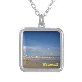 Playa de Weymouth Colgante Cuadrado