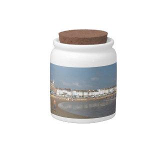 Playa de Weymouth Jarra Para Caramelo