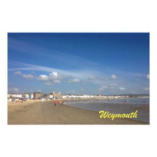 Playa de Weymouth Papeleria