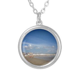 Playa de Weymouth Pendientes Personalizados