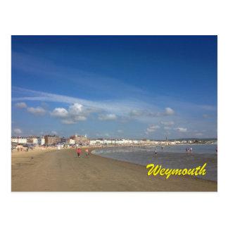 Playa de Weymouth Postal