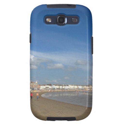 Playa de Weymouth Samsung Galaxy S3 Fundas