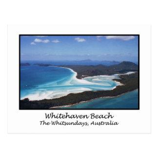 Playa de Whitehaven, el Whitsundays, Australia Postales