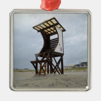 Playa de Wrightsville del soporte del salvavidas Ornamentos Para Reyes Magos