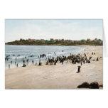 Playa de York del vintage del KRW, tarjeta de Main