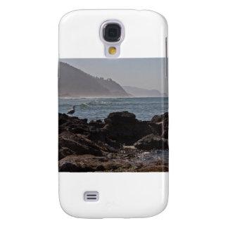 Playa del borde del camino de la cala de Bob, Oreg Funda Para Galaxy S4