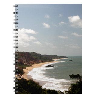 Playa del Brasil Paraiba Cuaderno