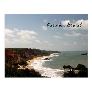 Playa del Brasil Paraiba Postales