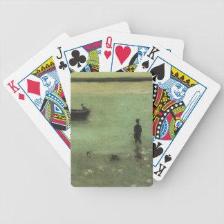 Playa del buey de Philip Wilson en Etaples Baraja Cartas De Poker