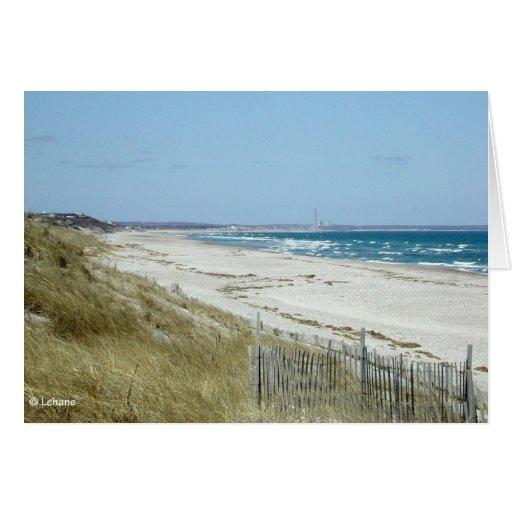 Playa del cabo--invitación tarjeta pequeña