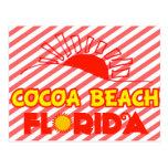 Playa del cacao, la Florida Tarjetas Postales