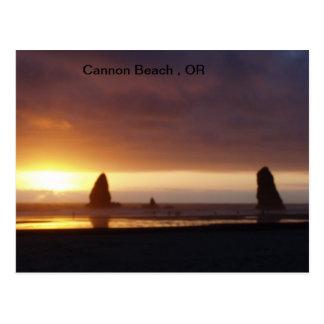 Playa del cañón, O Tarjetas Postales